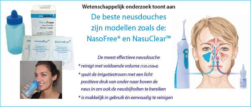 NasoFree en NasuClear neusdouche - groot