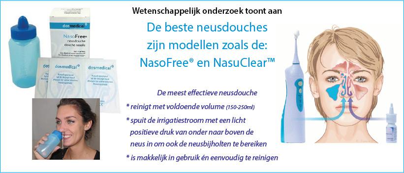 NasoFree en NasuClear neusdouche