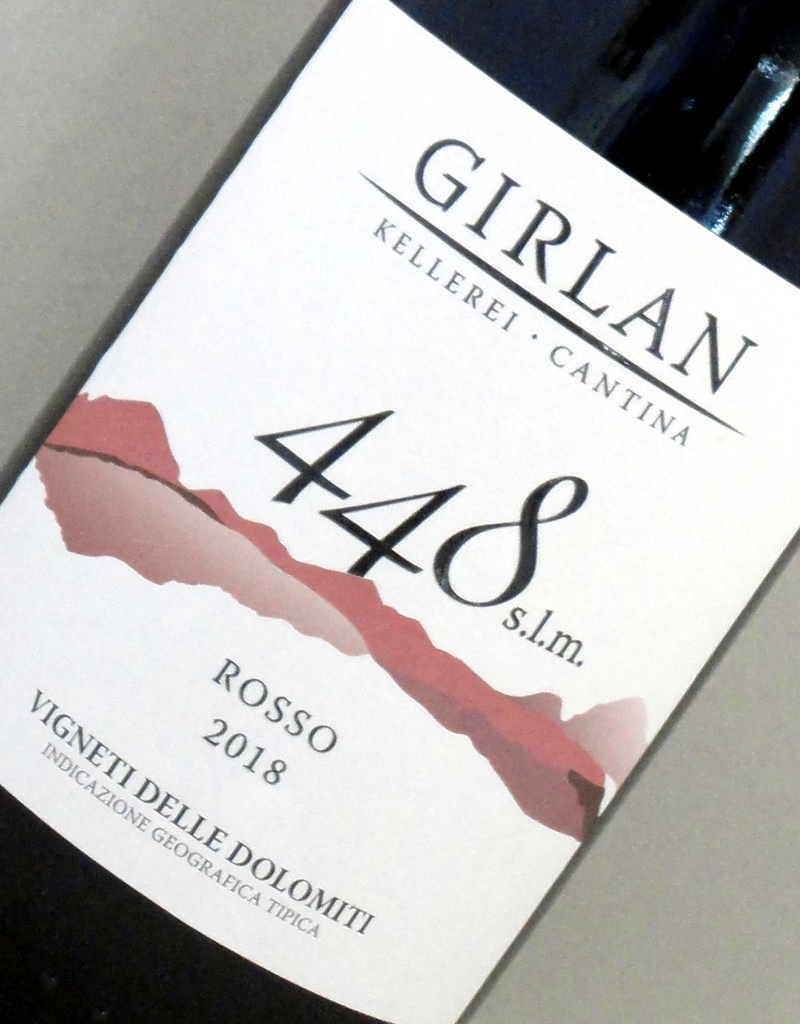 Dolomiti IGT Cuvée 448 s.l.m. rosso - Cantina Girlan
