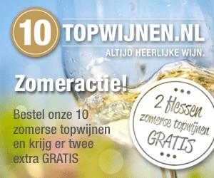 Zomeractie! - 2 flessen gratis bij onze 10 zomerse topwijnen