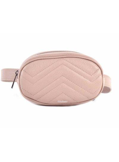 Belt Bag | Leer - Roze -Nude