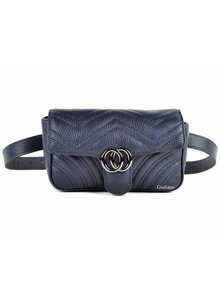 Lederen Belt Bag | Donkerblauw