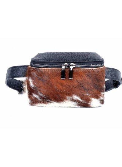 Lederen Belt Bag | Vacht | Print