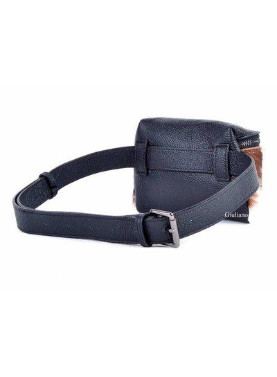 Lederen Belt Bag | Panter