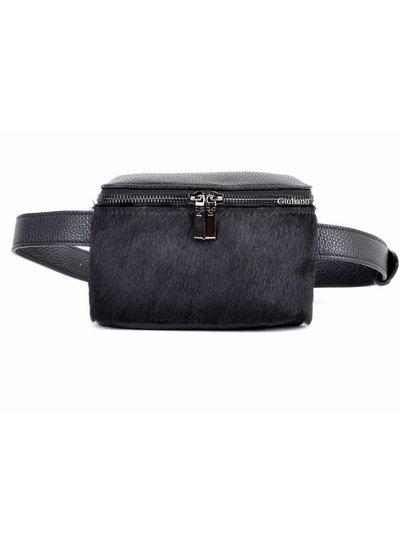 Lederen Belt Bag | Vacht | Zwart