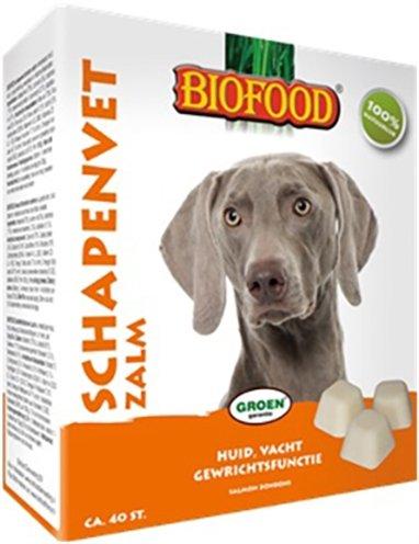 Biofood Schapenvet Maxi Bonbons met zalm Per verpakking