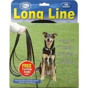 The company of animals Coa clix looplijn zwart 10mtr