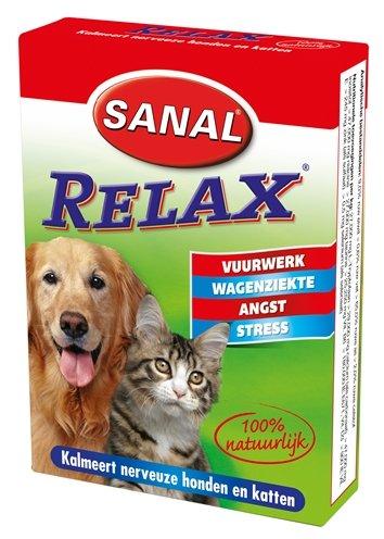 Sanal Relax voor hond, kat en konijn Per verpakking