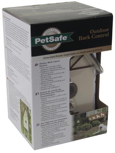 Afbeelding Petsafe Outdoor Barkcontrol Vogelhuis pbc19-11794 door Online-dierenwinkel.eu