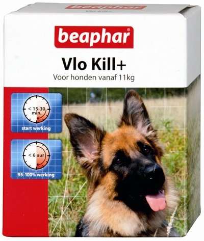 Beaphar Vlo Kill (vanaf 11 kg) hond 6 Tabletten