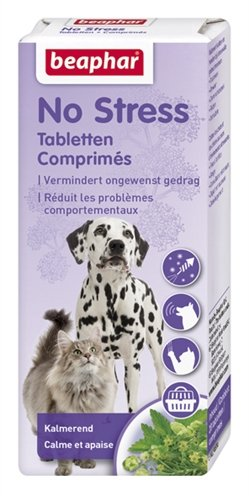 Beaphar No Stress Tabletten voor Hond en Kat 20 tabletten
