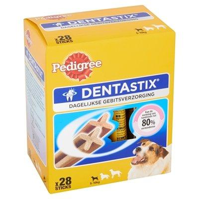 Dentastix Mini hondensnack tot 10 kg Omdoos (28 stuks)