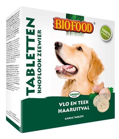 Biofood Tabletten Knoflook Zeewier Per verpakking