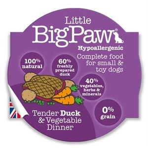 Little big paw Little big paw malse eend / groenten dinner