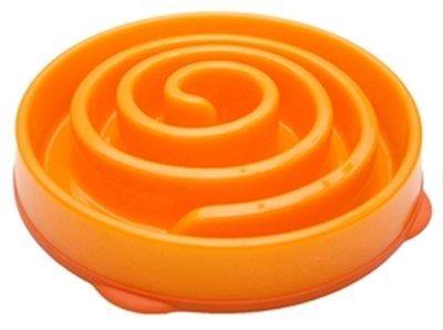 Outward Hound Mini Fun Feeder Coral - Orange