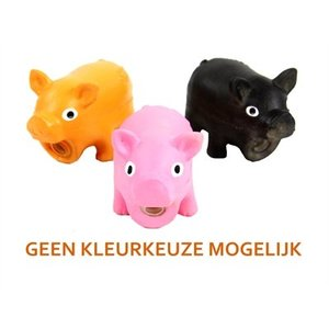 Doggy dolittles Doggy dolittles micro pig latex zwijn assorti