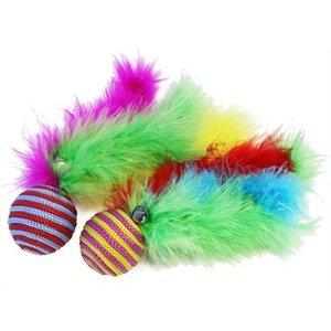 Happy pet Cat 'n' caboodle bal met veren