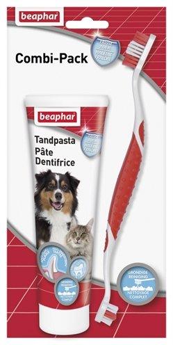 Afbeelding Beaphar Tandpasta & Tandenborstel voor hond en kat Per stuk door Online-dierenwinkel.eu