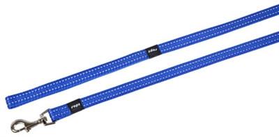 Afbeelding Rogz for dogs snake long lijn blauw door Online-dierenwinkel.eu