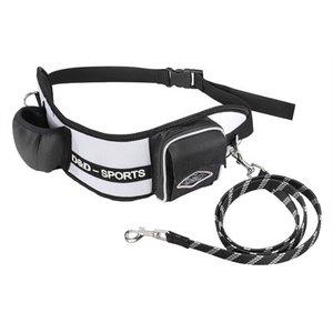 D&d D&d hondenriem sports walker reflecterend kleine / middelgrote hond wit / zwart