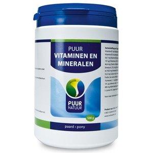 Puur natuur Puur natuur vita-min (vitaminen en mineralen) voor paard en pony