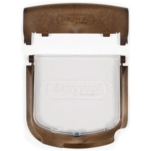 Petsafe Petsafe luik+frame+batterijkap 300/400/500 houtnerf