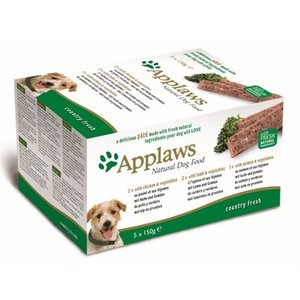 Applaws Applaws dog pate multipack country selection