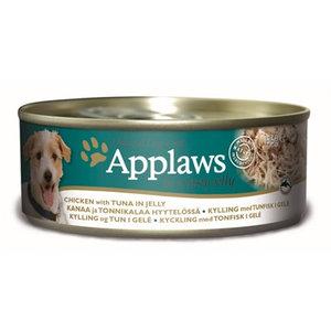 Applaws Applaws dog blik jelly chicken / tuna
