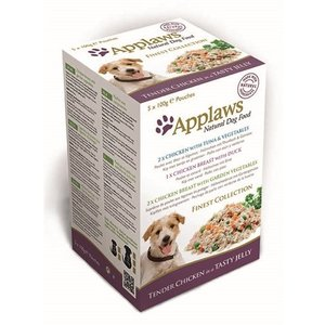 Applaws Applaws dog pouches multipack jelly finest