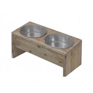 D&d D&d homecollection dinnerset wood&zinc