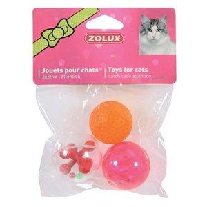 Zolux Zolux kattenspeelgoed ballen sphere assorti