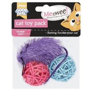 Good girl Good girl meowee kattenspeelset 2 ballen en 1 muis