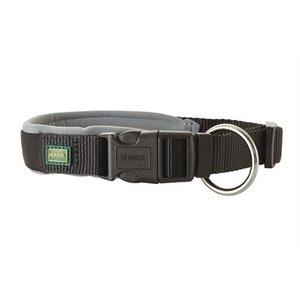 Hunter Hunter halsband neopreen vario plus zwart / grijs