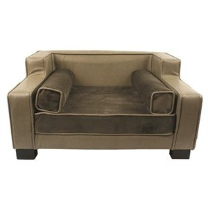 Enchanted pet Enchanted hondenmand sofa lincoln grijs / bruin