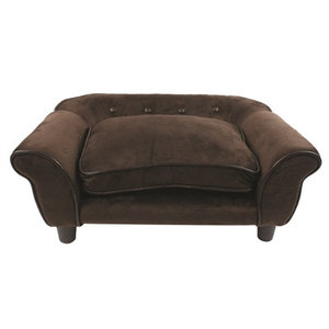 Enchanted pet Enchanted hondenmand sofa cleo pluche bruin