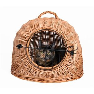 Trixie Trixie rotan kattenmand met deur