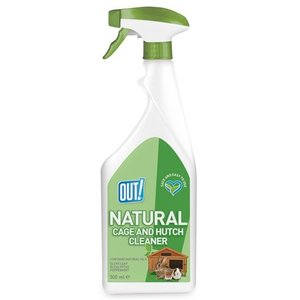 Out! Out! natural cage and hutch cleaner spray