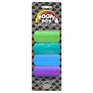 D&d D&d poopi-dog poepzakjes blauw / groen tinten