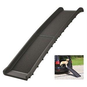 Trixie Trixie car ramp loopplank opvouwbaar zwart