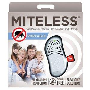 Tickless Miteless huisstofmijt afweer voor mens wit
