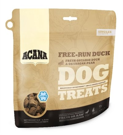 35 gr Acana dog gevriesdroogd free-run duck snoepjes