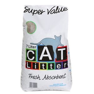 Merkloos Super value kattenbakvulling