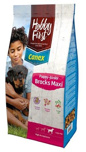 Afbeelding HobbyFirst Canex Puppy-Junior Brocks Maxi hondenvoer 12 kg door Online-dierenwinkel.eu