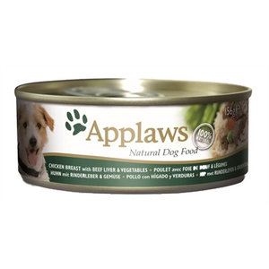 Applaws Applaws dog blik chicken / beef / liver