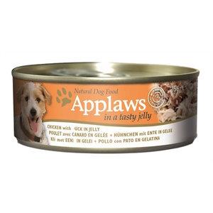 Applaws 12x applaws dog blik jelly chicken / duck