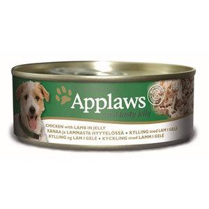 Applaws 12x applaws dog blik jelly chicken / lamb