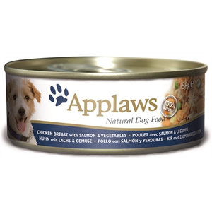 Applaws Applaws dog blik chicken / salmon / rice