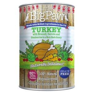 Little big paw 12x little big paw naturally delicious kalkoen / groenten