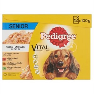 Pedigree Pedigree multipack maaltijdzakjes senior in gelei
