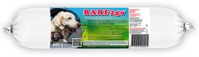 800 gr Barfmenu hond barf2go hond hondenvoer